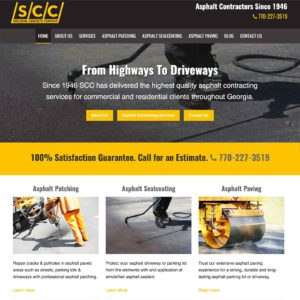 Welcome To Our New Asphalt Contractor Website