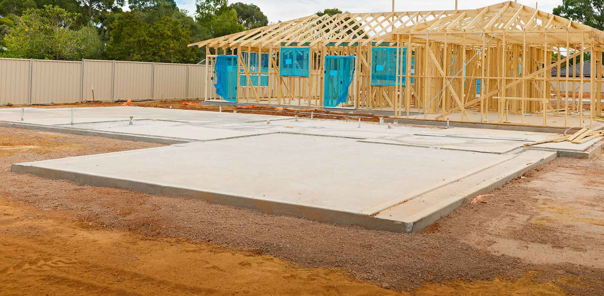 Concrete Slabs, Concrete Foundations
